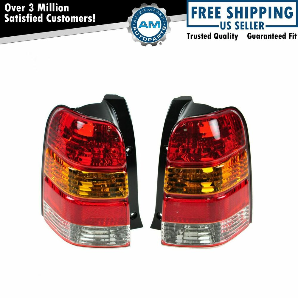 taillights taillamps rear brake lights lamps pair set for. Black Bedroom Furniture Sets. Home Design Ideas