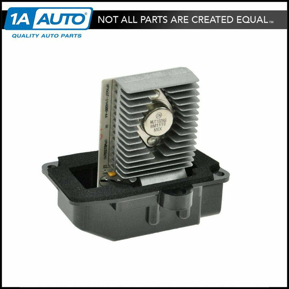 A c ac heater blower motor resistor for crown vic town car for Car ac blower motor