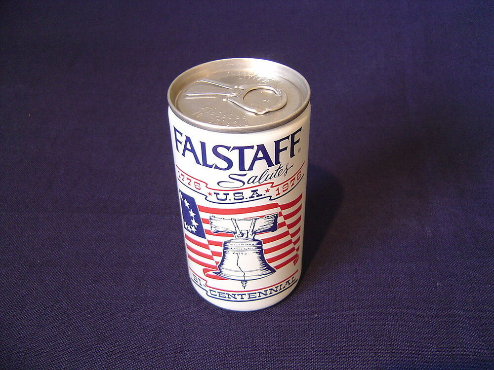 FALSTAFF BEER 1976 METAL STEEL CAN 12 OZ ALUMINUM PULL TAB ...