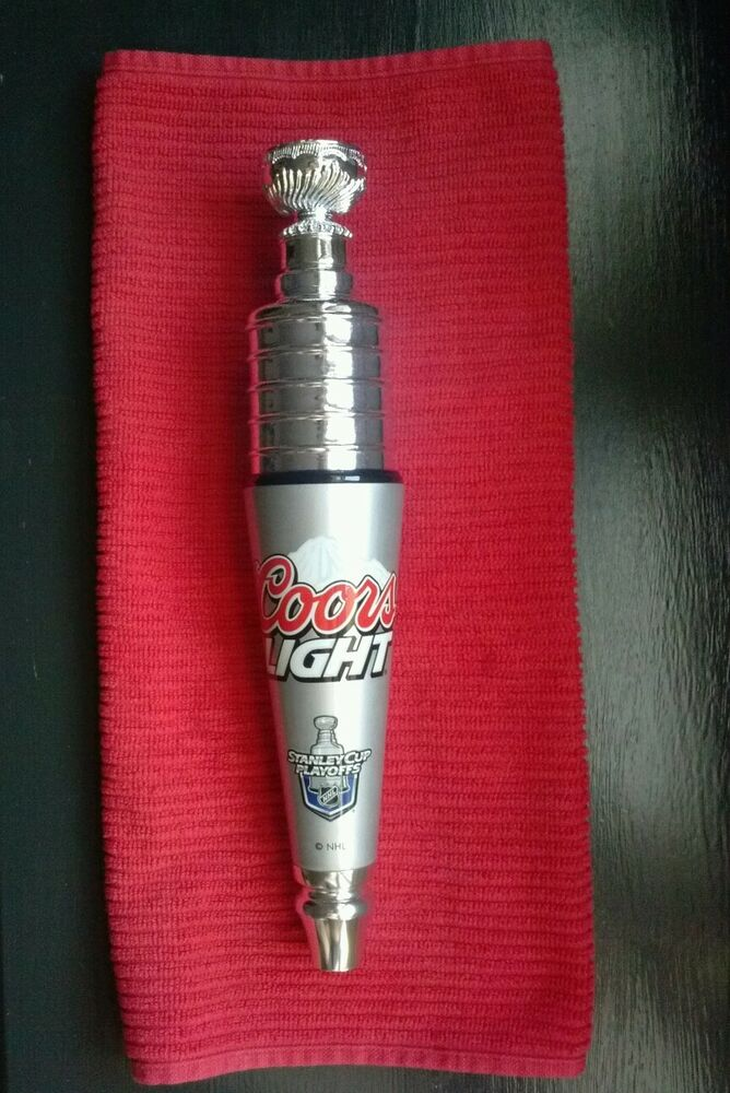 Coors Light Nhl Stanley Cup Beer Bar Tap Handle Ebay