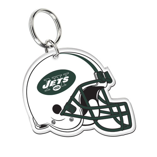New York Jets 2013 Wincraft NFL Acrylic Helmet Key Ring