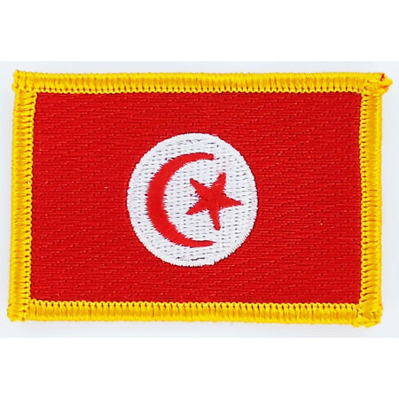 img-PATCH ECUSSON BRODE DRAPEAU TUNISIE INSIGNE THERMOCOLLANT NEUF FLAG PATCHE