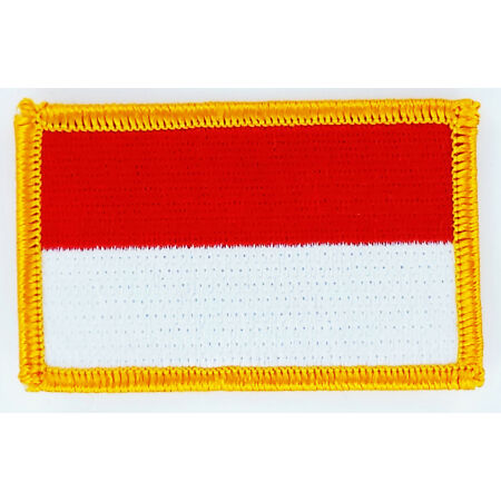 img-PATCH ECUSSON BRODE DRAPEAU INDONESIE INSIGNE THERMOCOLLANT NEUF FLAG PATCHE