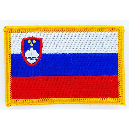 img-PATCH ECUSSON BRODE DRAPEAU SLOVENIE INSIGNE THERMOCOLLANT NEUF FLAG PATCHE