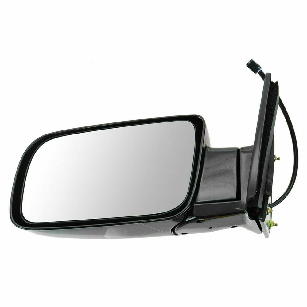 Mirror Side View Power Black Folding Driver Left Lh For