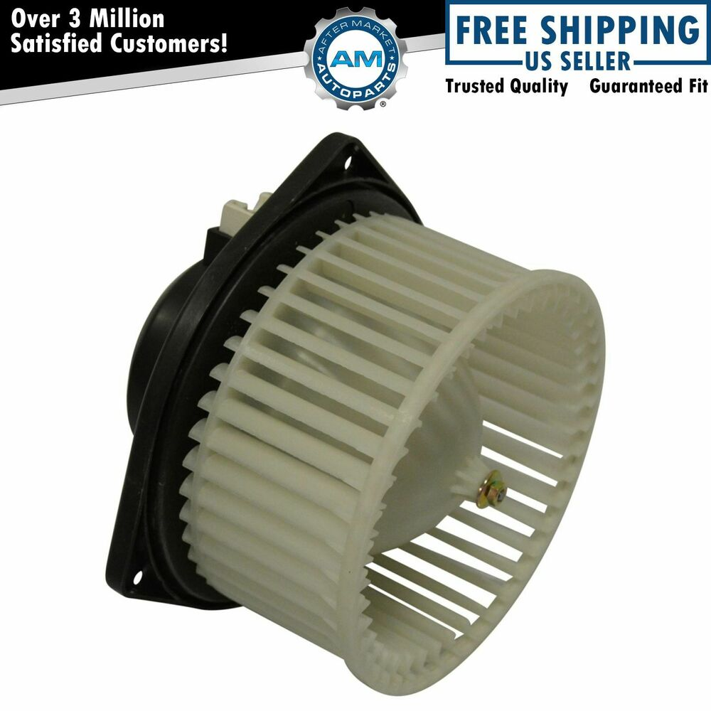 Heater a c ac blower motor w fan cage for acura tl cl ebay for Car ac blower motor
