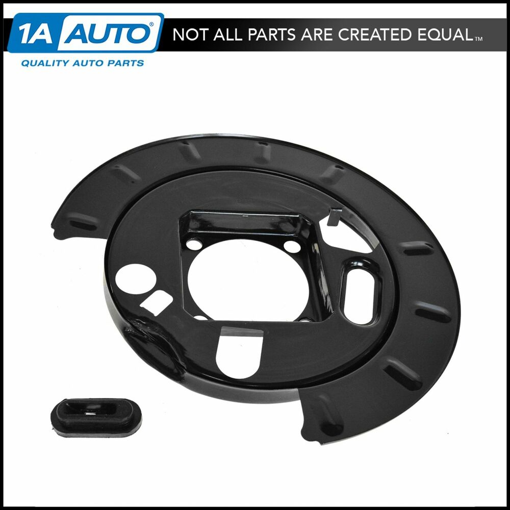 Chevy Truck Brake Backing Plate : Rear disc brake backing plate shield for chevy silverado