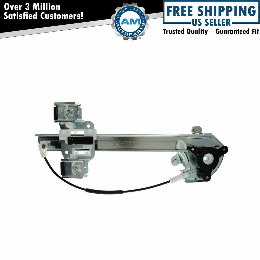 Rear door window regulator passenger side right rh rr for for 2000 buick lesabre window regulator replacement