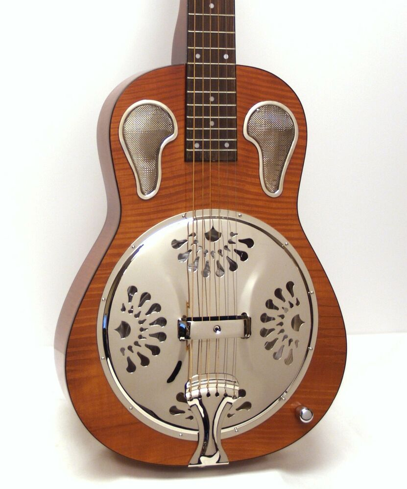 orpheum ors18e square neck resonator acoustic electric guitar ebay. Black Bedroom Furniture Sets. Home Design Ideas