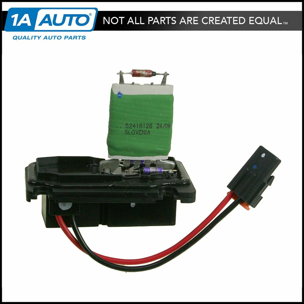 Chevy Impala Blower Motor Resistor: Heater A/C Blower Motor Resistor 15-80571 AC DELCO For