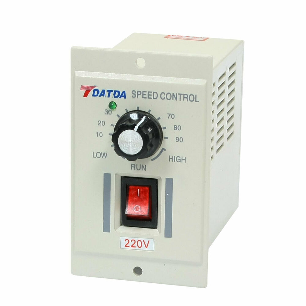 Test equipments switch motor speed controller grey ac 220v Speed control for ac motor