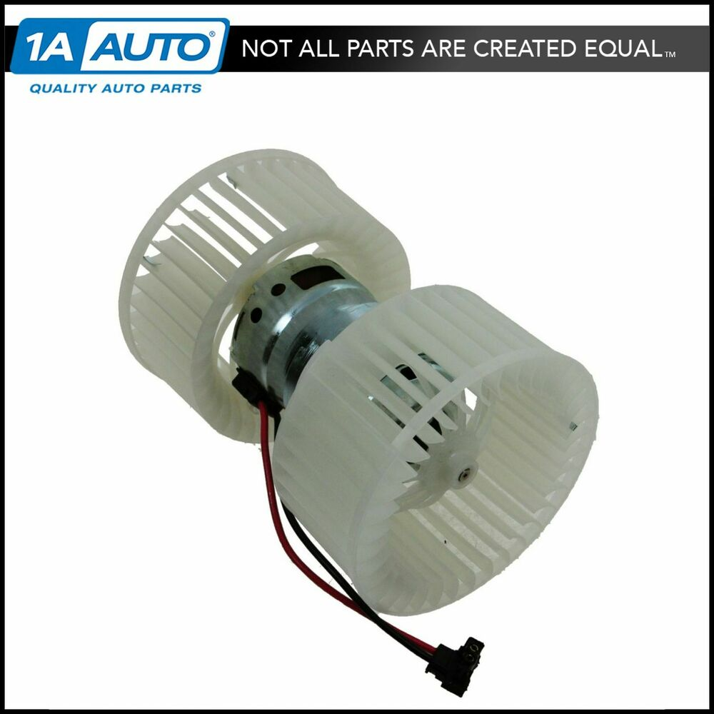 Heater a c ac blower motor w dual cage fan for bmw 330i for Car ac blower motor