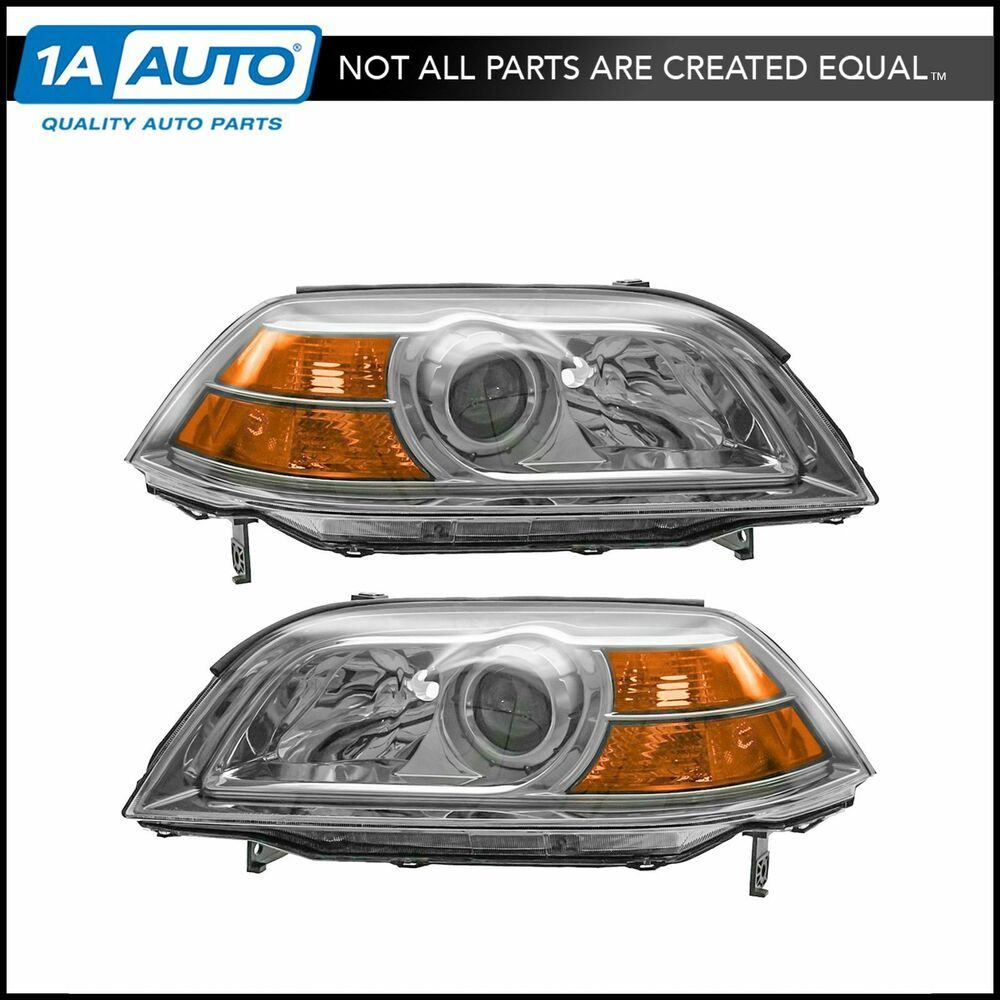 Headlights Headlamps Left & Right Pair Set NEW For 04-06