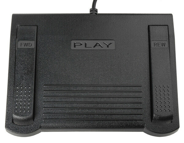 Infinity Foot Pedal Glimmer Transcription Headset With