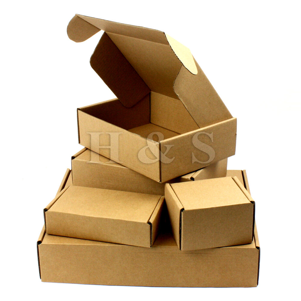 postal cardboard boxes small mailing shipping cartons. Black Bedroom Furniture Sets. Home Design Ideas
