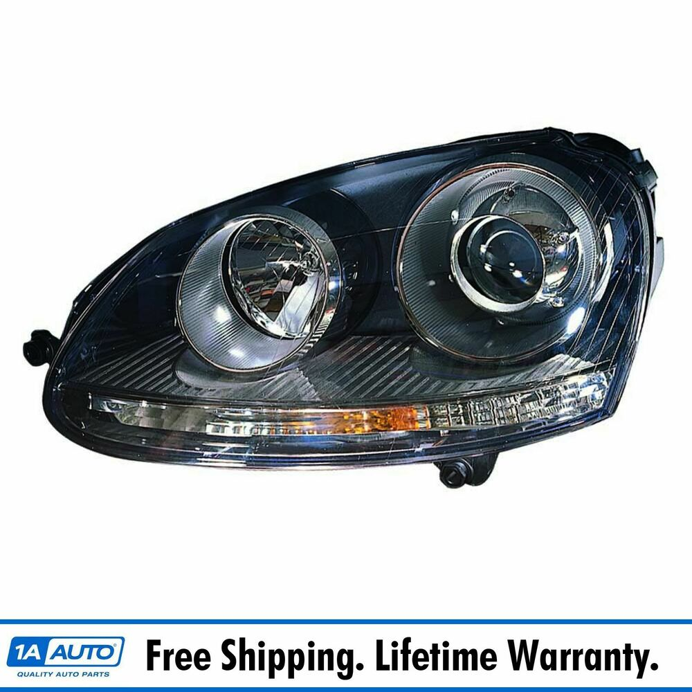 Hid Headlight Headlamp Left Driver Side Lh For Vw