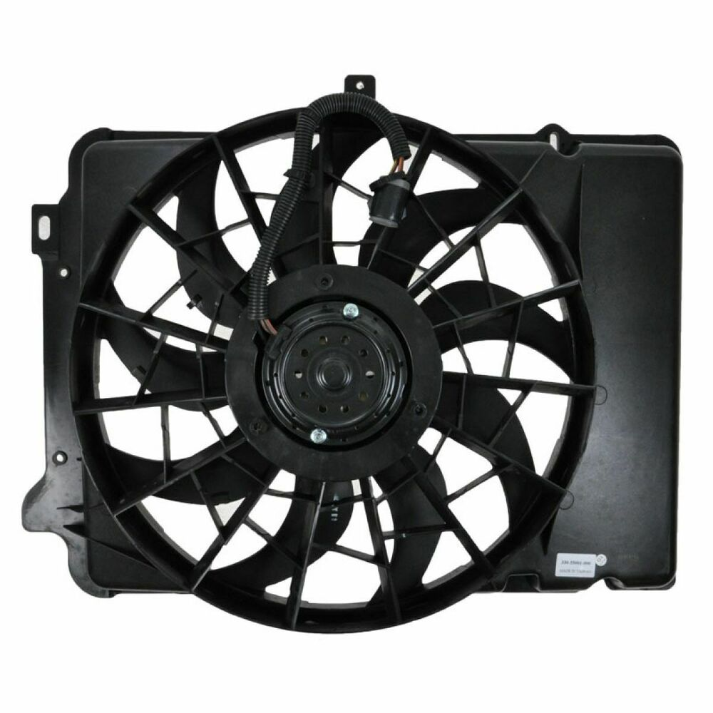 Radiator Cooling Fans : Radiator cooling fan assembly for ford taurus sable