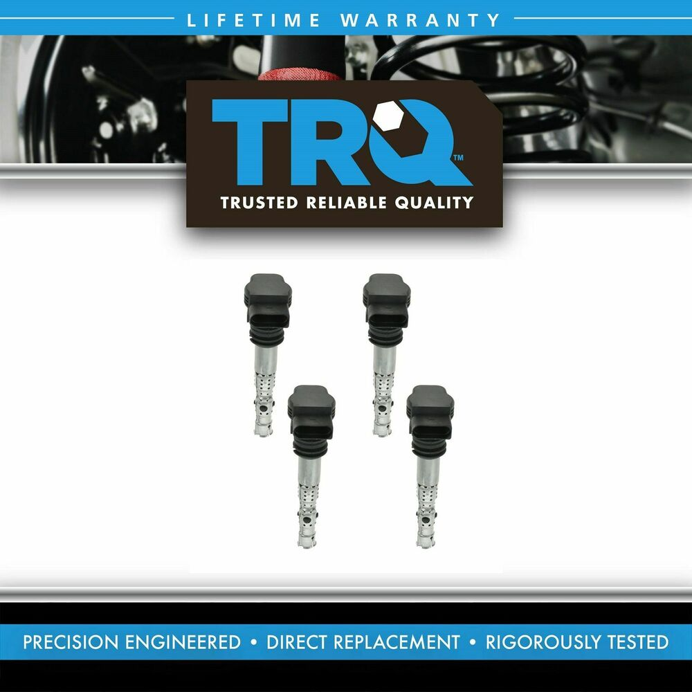 Ignition Coil Golf: Ignition Coils Kit Set Of 4 NEW For VW Beetle Golf Jetta