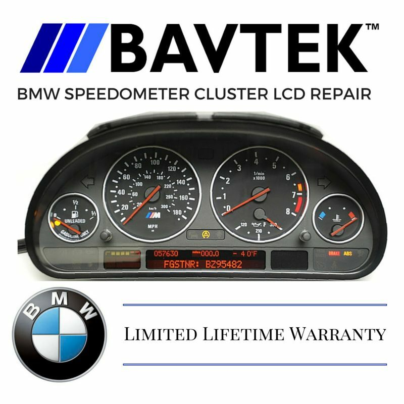 BMW SPEEDOMETER INSTRUMENT CLUSTER DISPLAY E38 E39 E53 X5