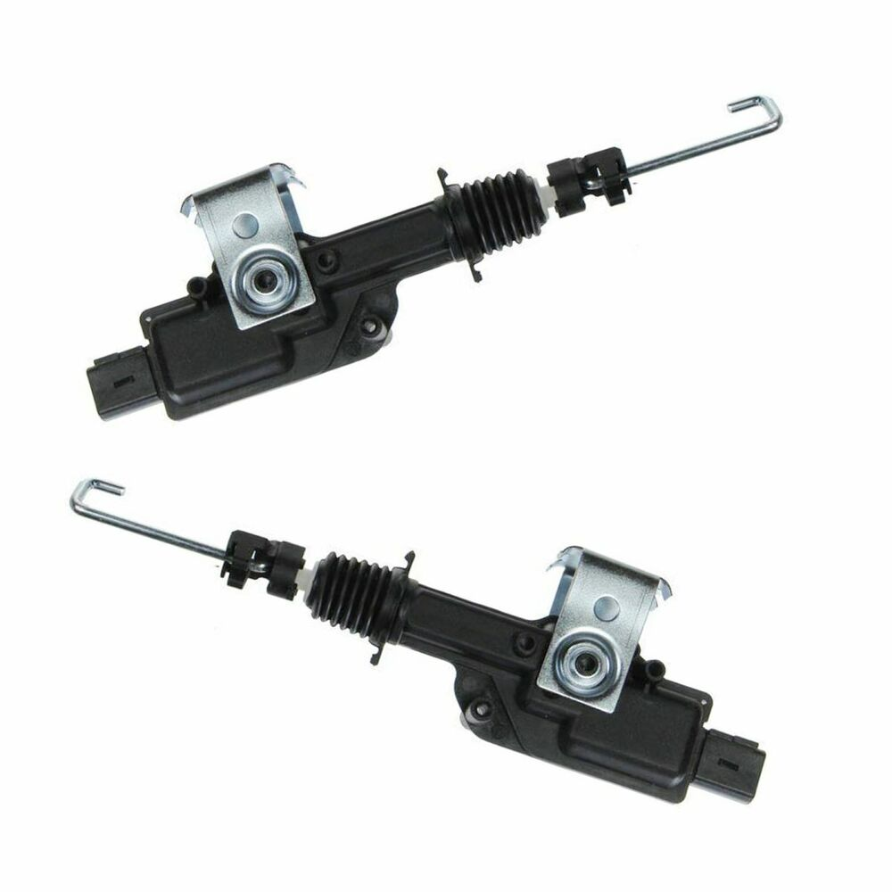 Power Door Lock Actuator Rear Pair Set For Lincoln Navigator Ford Expedition Ebay
