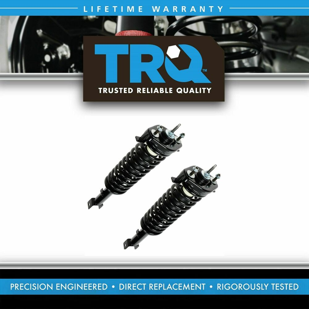 Rear Spring Assy : Trq rear shock strut spring assembly pair set pc for