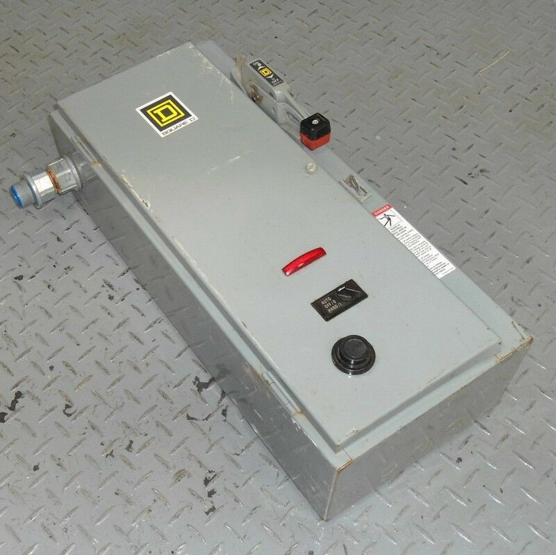 Square d 30a combination starter fusible disconnect for Square d combination motor starter