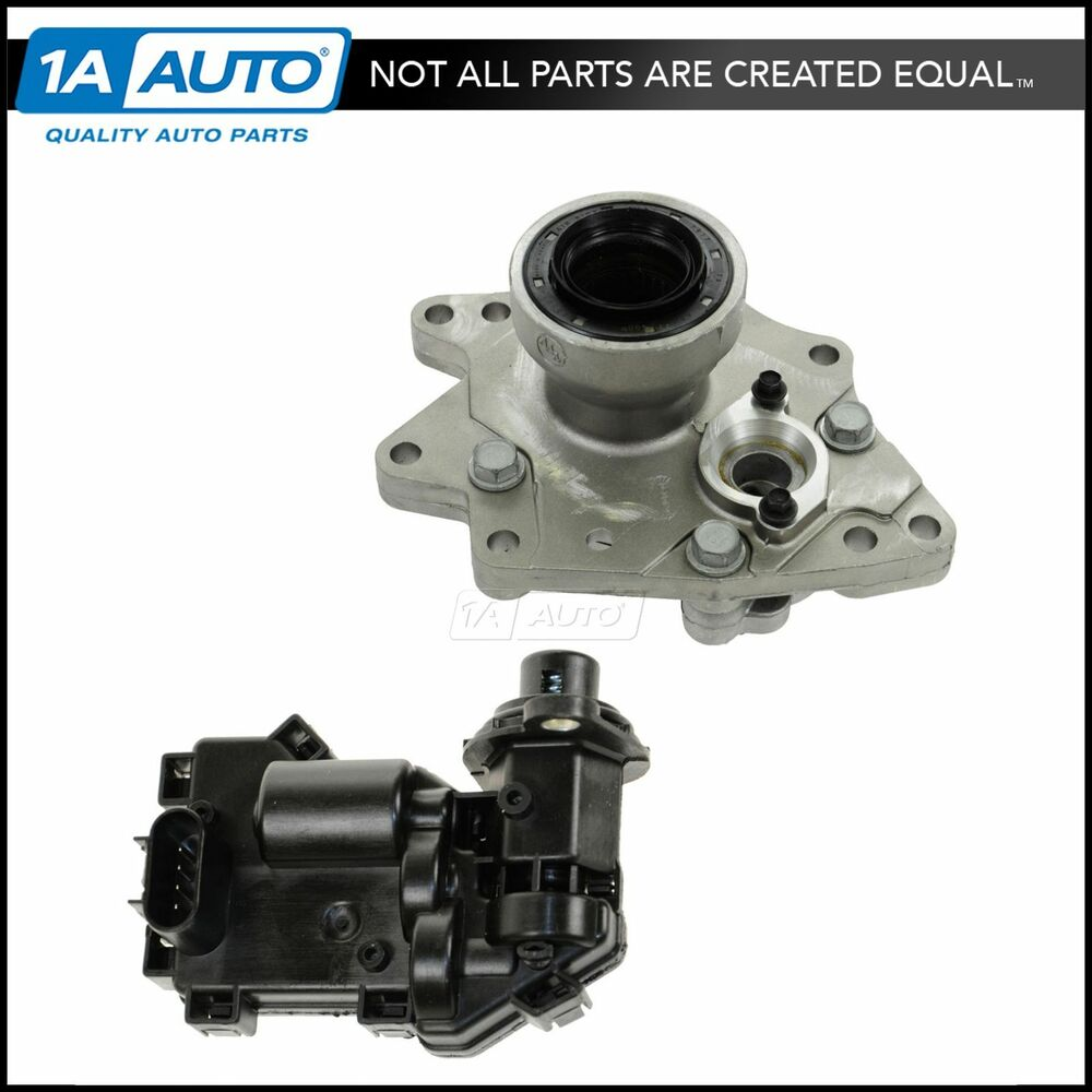 Gm 4x4 Front Axle Housing : Front axle wd disconnect housing actuator kit for chevy