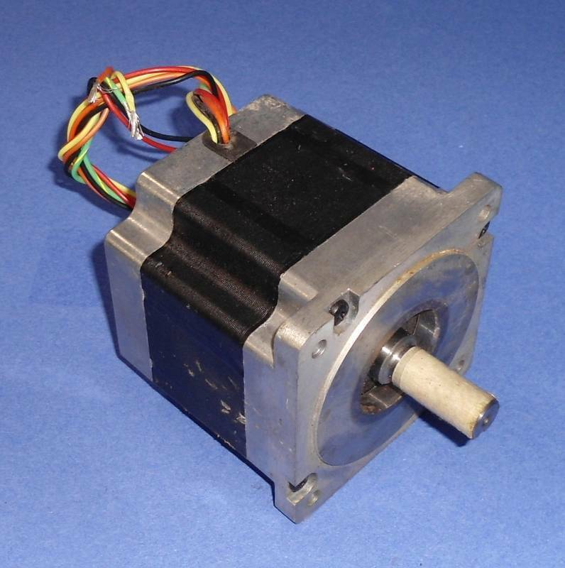 danaher motion powerpac 1 8 degree dc stepper motor