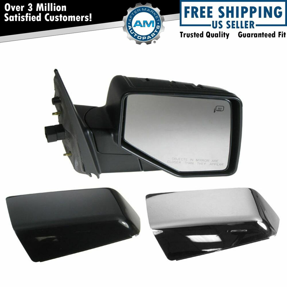 Power Heated W Puddle Light Mirror Right Passenger Side