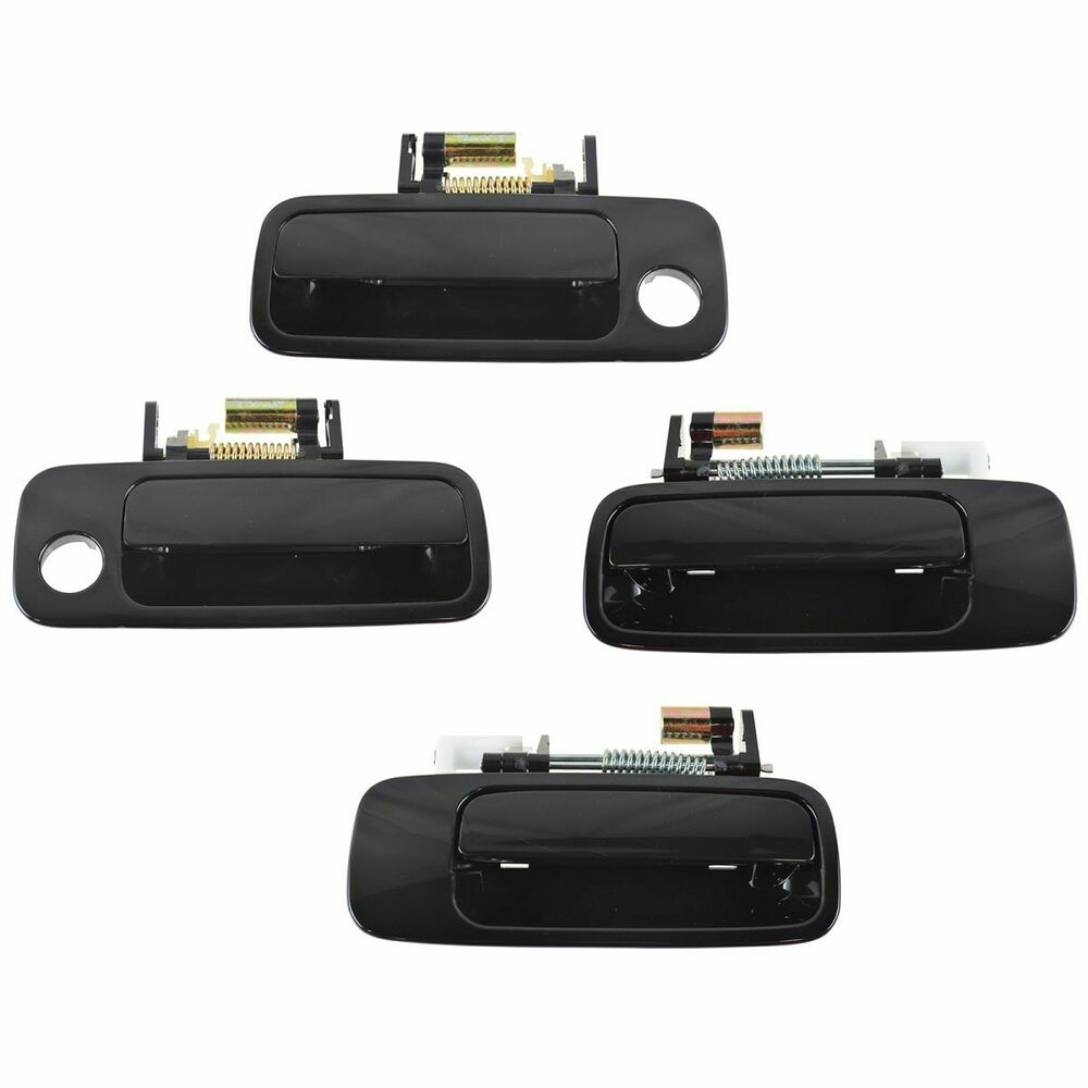 Door handle exterior outside front rear kit set of 4 for for External rear door