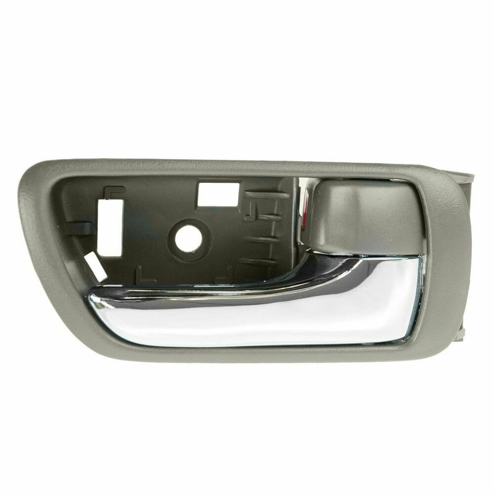 Door handle inside brown chrome rh right passenger side - 2002 toyota camry interior door handle ...