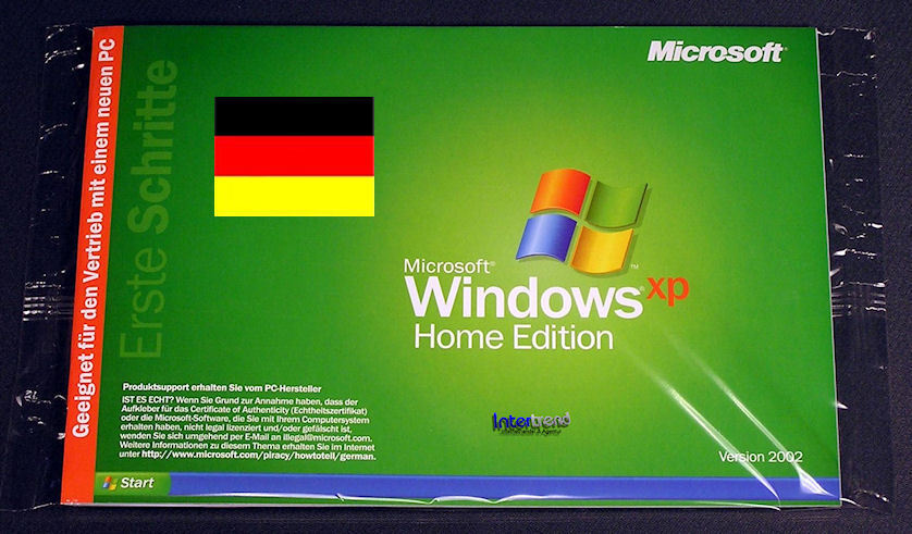 Windows XP Home Edition OEM SP0 Download
