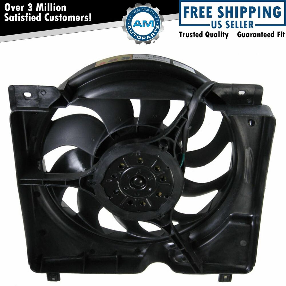 Radiator Cooling Fans : Radiator cooling fan motor w blades new for