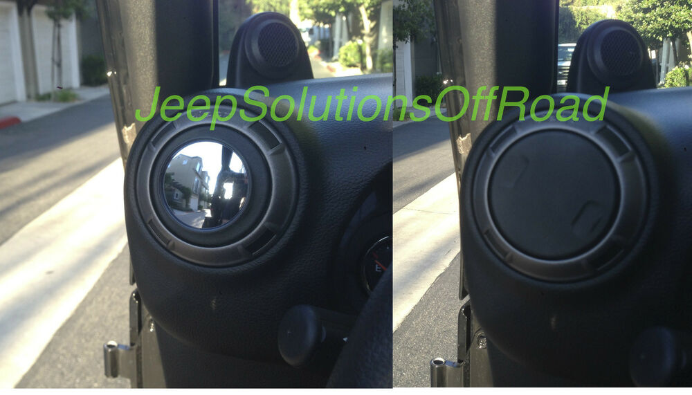 Jk Easy Doorless Vent Side Mirrors Jeep Wrangler Offroad