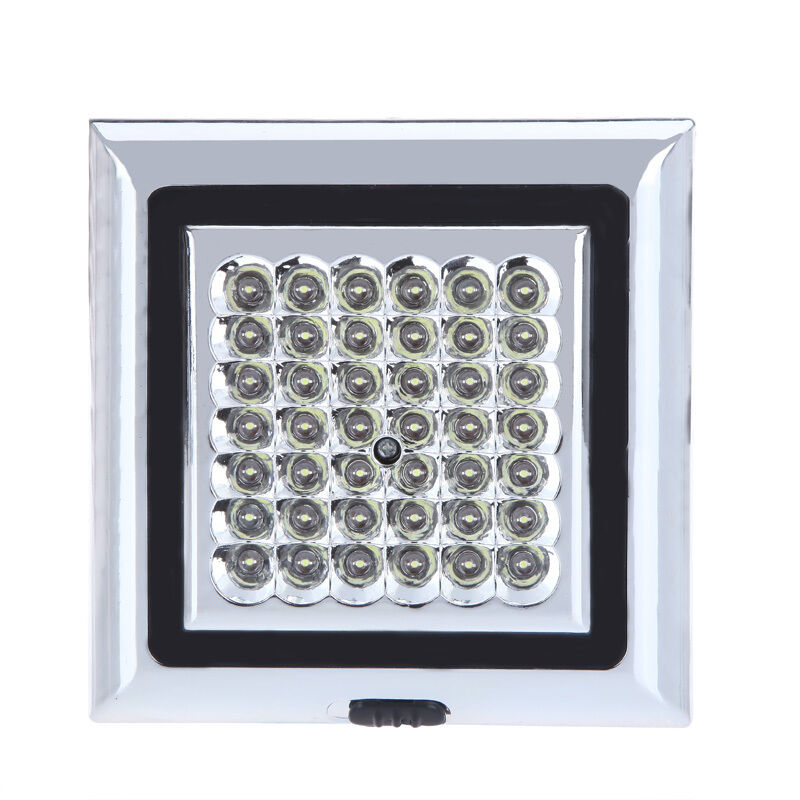 car truck white 42 led indoor roof ceiling light lamp interior dome light dc 12v ebay. Black Bedroom Furniture Sets. Home Design Ideas