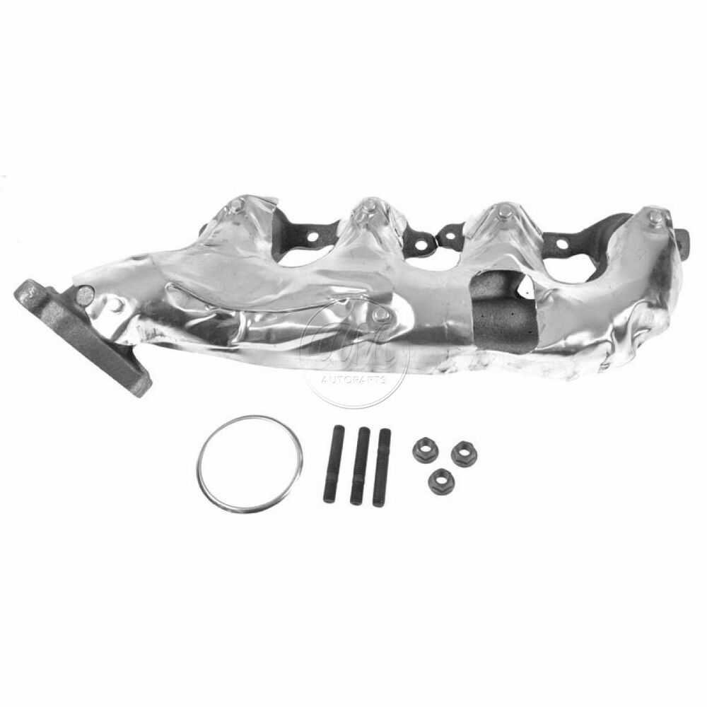 Exhaust Manifold & Gasket Right Passenger For Chevy GMC V8