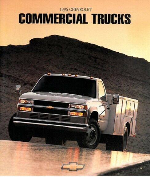 1995 Chevrolet Commercial Truck 46-page Sales Brochure
