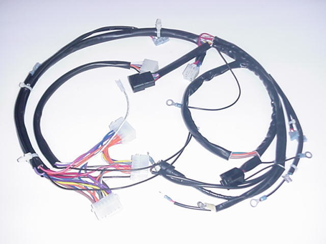 snow dog hd wiring harness hd headlight wiring harness new 1993-1995 fxst main wiring harness harley-davidson | ebay #12