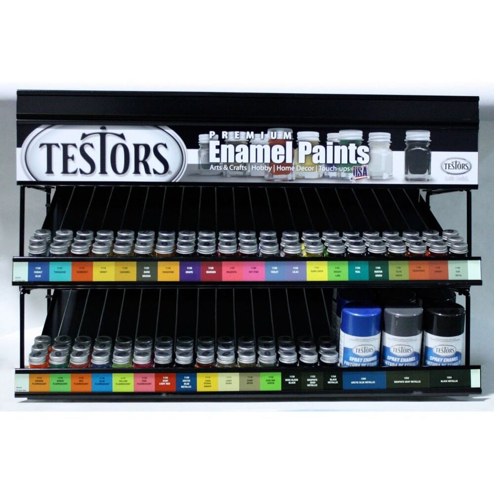 Testors Enamel Model Hobby Craft Paints 36 New Colors