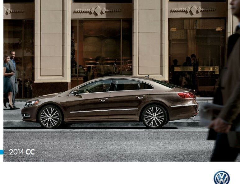 2014 volkswagen cc passat 24 page sales brochure catalog vw car ebay. Black Bedroom Furniture Sets. Home Design Ideas
