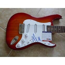 Marilyn Manson Signed Autographed Electric Guitar PSA Certified Rock Music