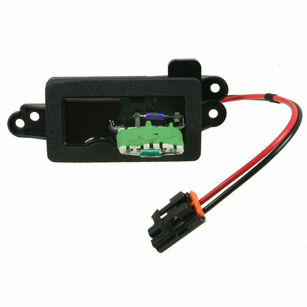 Ac Delco 15 81095 Heater A C Blower Motor Resistor For