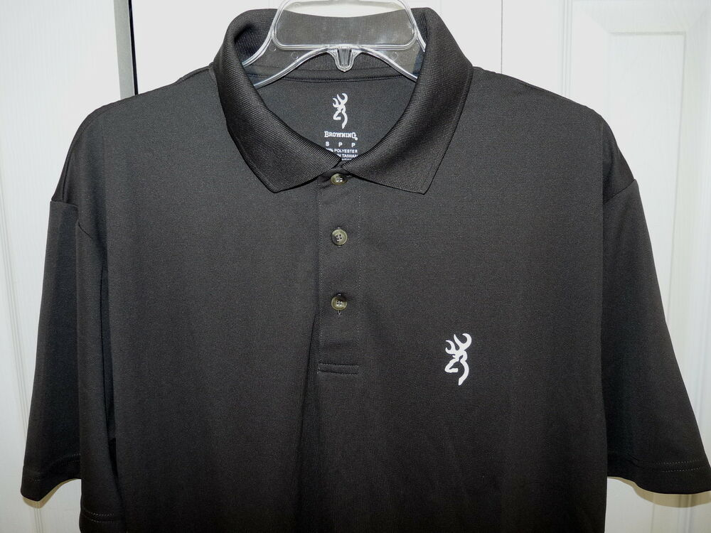 Browning men 39 s performance short sleeve polo shirt 100 for Men s performance polo shirts