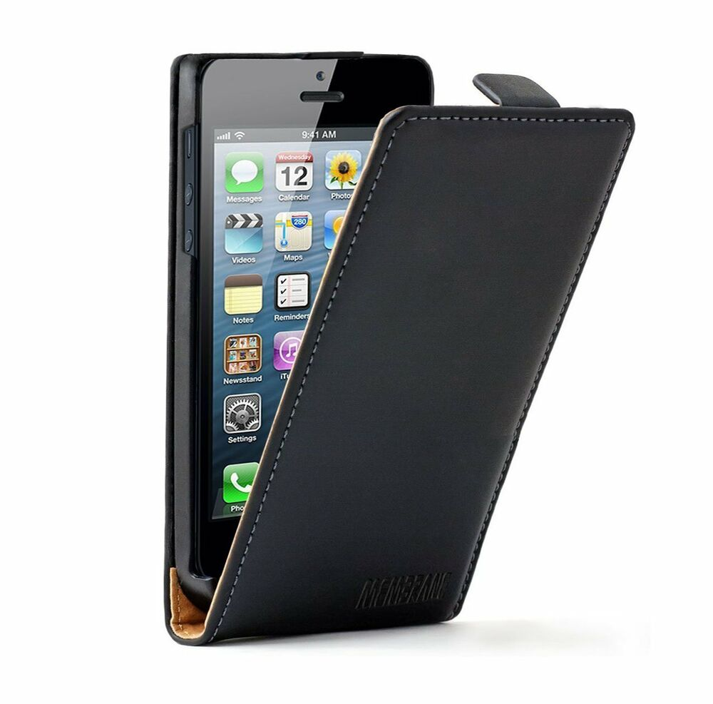 vertical leather flip case mobile phone cover pouch for apple iphone 5c 5s 5gs 5 ebay. Black Bedroom Furniture Sets. Home Design Ideas