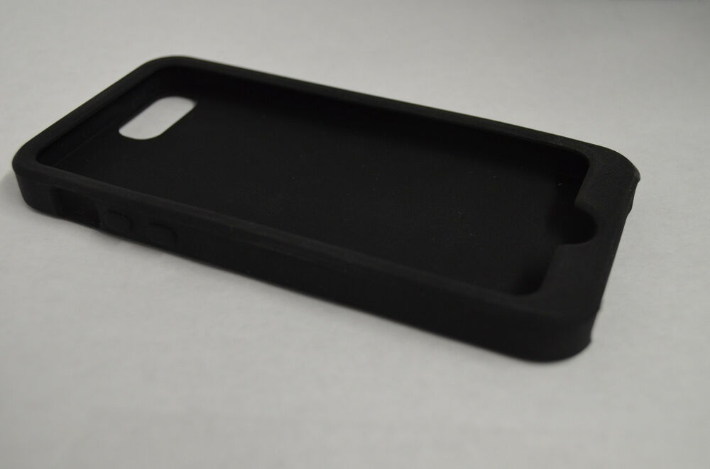 iphone 5s rubber case new soft silicone gel rubber skin cover for apple 6611