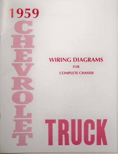 1959 Chevy Truck Wiring Diagram Manual