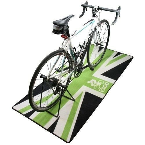 NEW EIGO TURBO TRAINER FLOOR MAT GREEN JACK