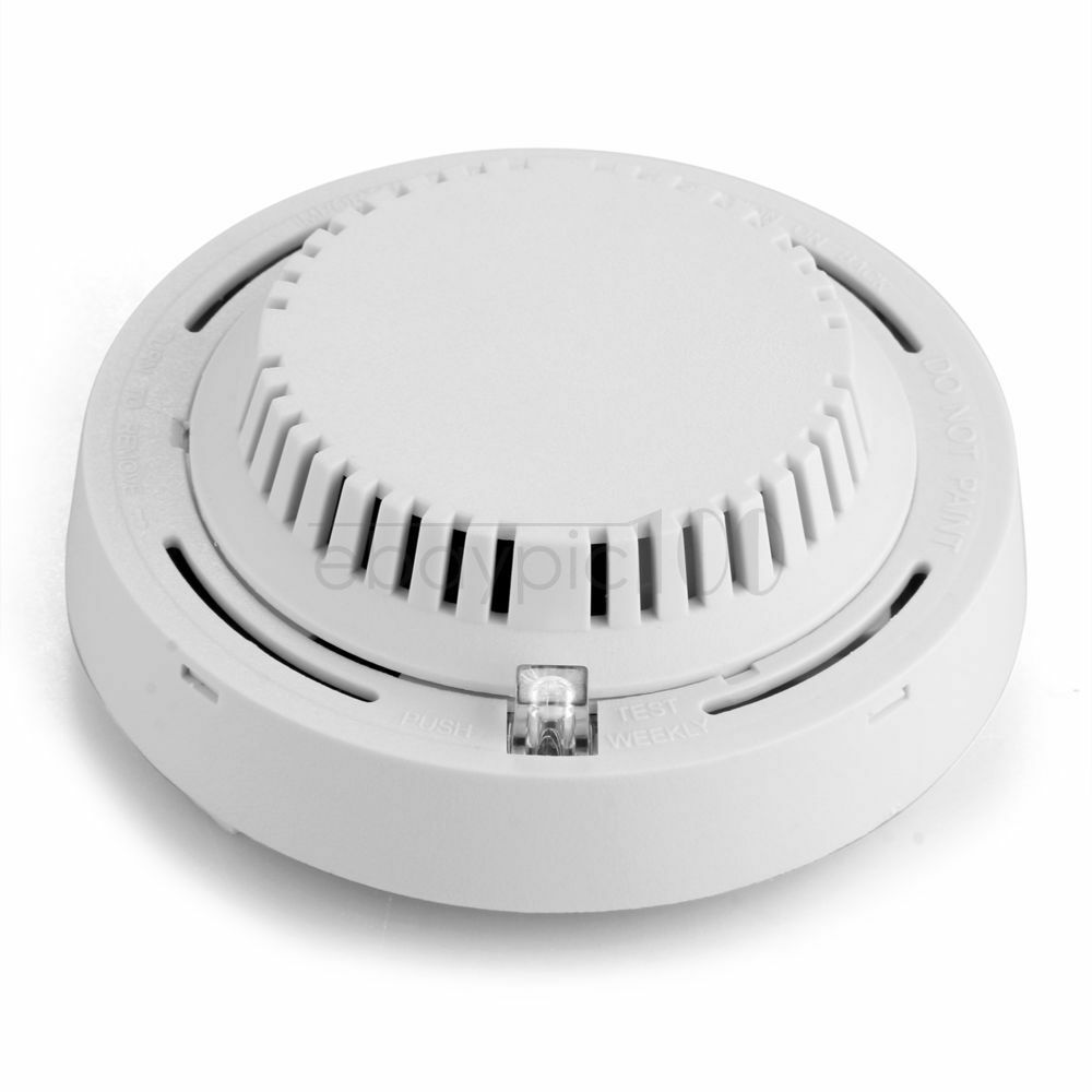 wire in smoke detector sensor for fire alarm system home. Black Bedroom Furniture Sets. Home Design Ideas