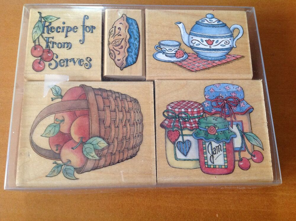 Set of 5 Stamps for Card Making by Rubber Stampede. Slt ...