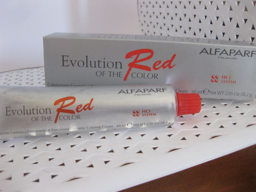 Alfaparf Evolution Of The Color Red Hci System Permanent Hair Color